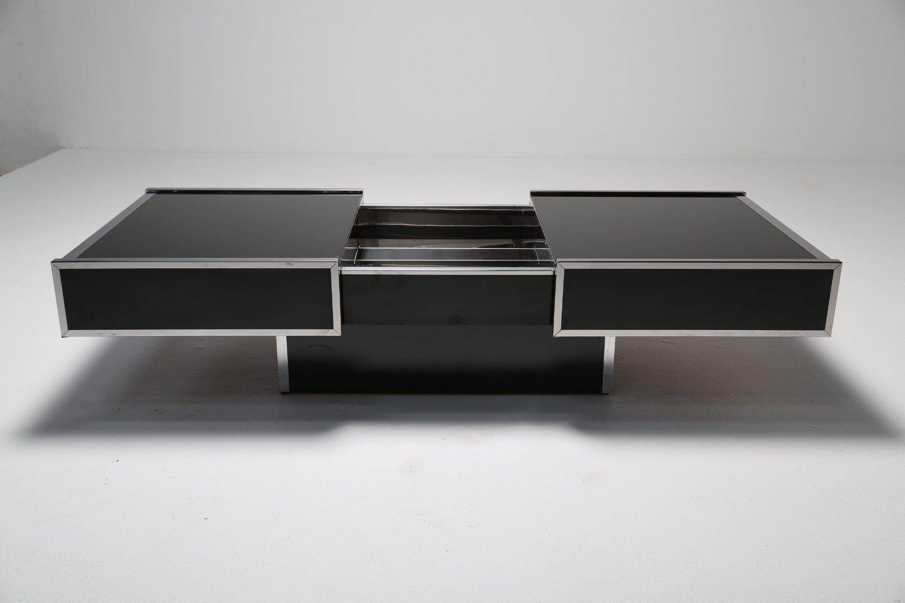 cocktail-or-coffee-table-with-internal-bar-from-maison-lancel-4 Frais De Meuble Bar Merisier Concept