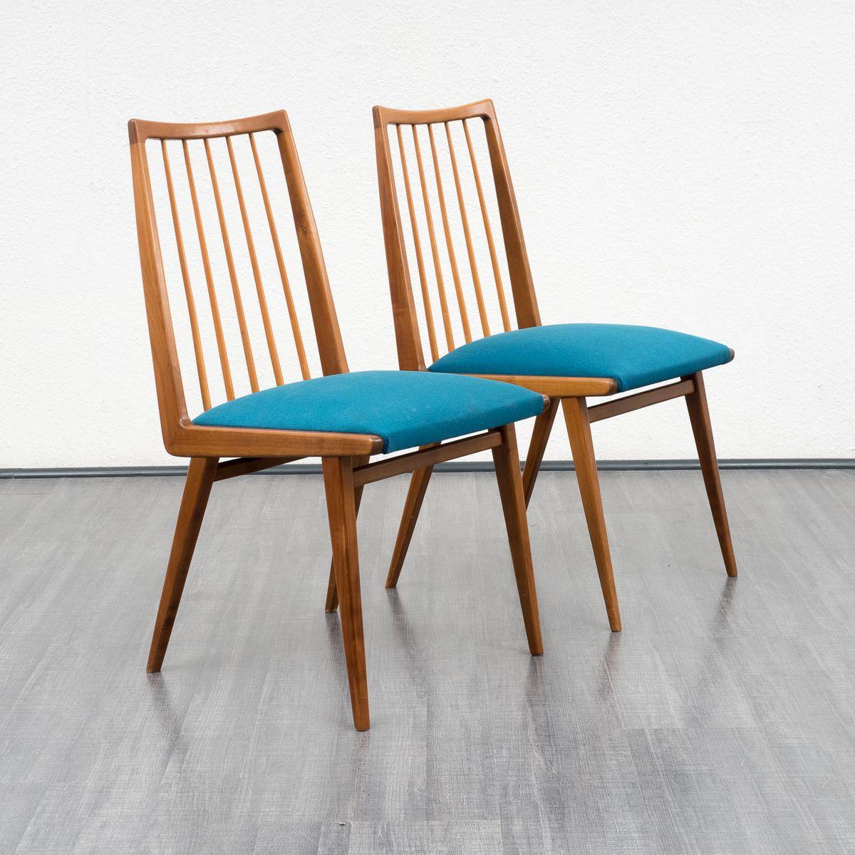 Cherry wood chairs