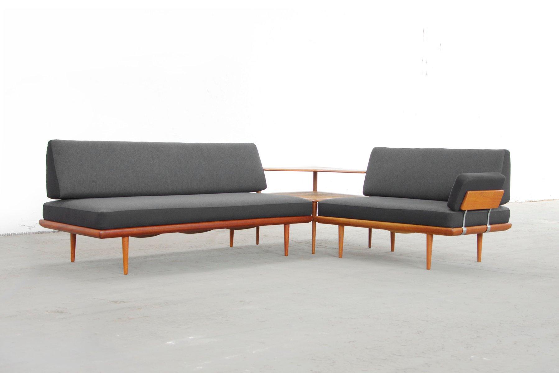 Danish teak minerva sofa system by peter hvidt and orla m lgaard nielsen for sale at pamono