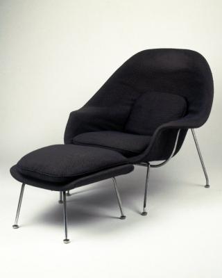Eero Saarinen. United States. Womb Chair, 1947-1948