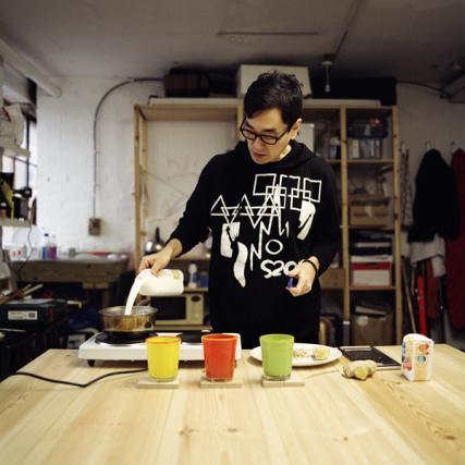 Yuri Suzuki's Milk Ginger Pudding