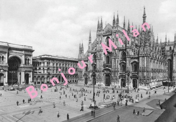 Bonjour Milan!