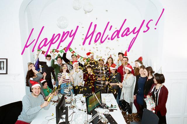 Happy, Happy Holidays