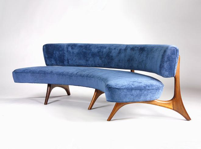 Amazing Sculptured Dining Chairs, © Vladimir Kagan