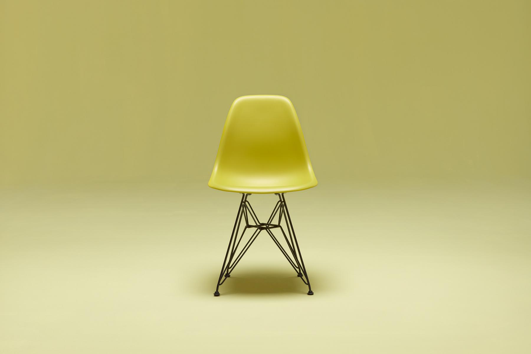 Top hat chair light blue furniture realm - Eames Plastic Side Chair Designed By Charles Ray Eames Ca 1950