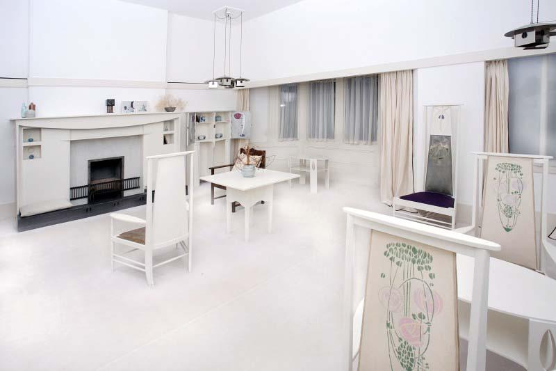Charles rennie mackintosh for Designer room glasgow