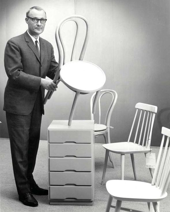 a history of ikea a swedish catalogue founded by ingvar kamprad In this aug 6, 2002 file photo, ingvar kamprad, founder of swedish multinational furniture retailer ikea, stands outside the company's head office in almhult, sweden.