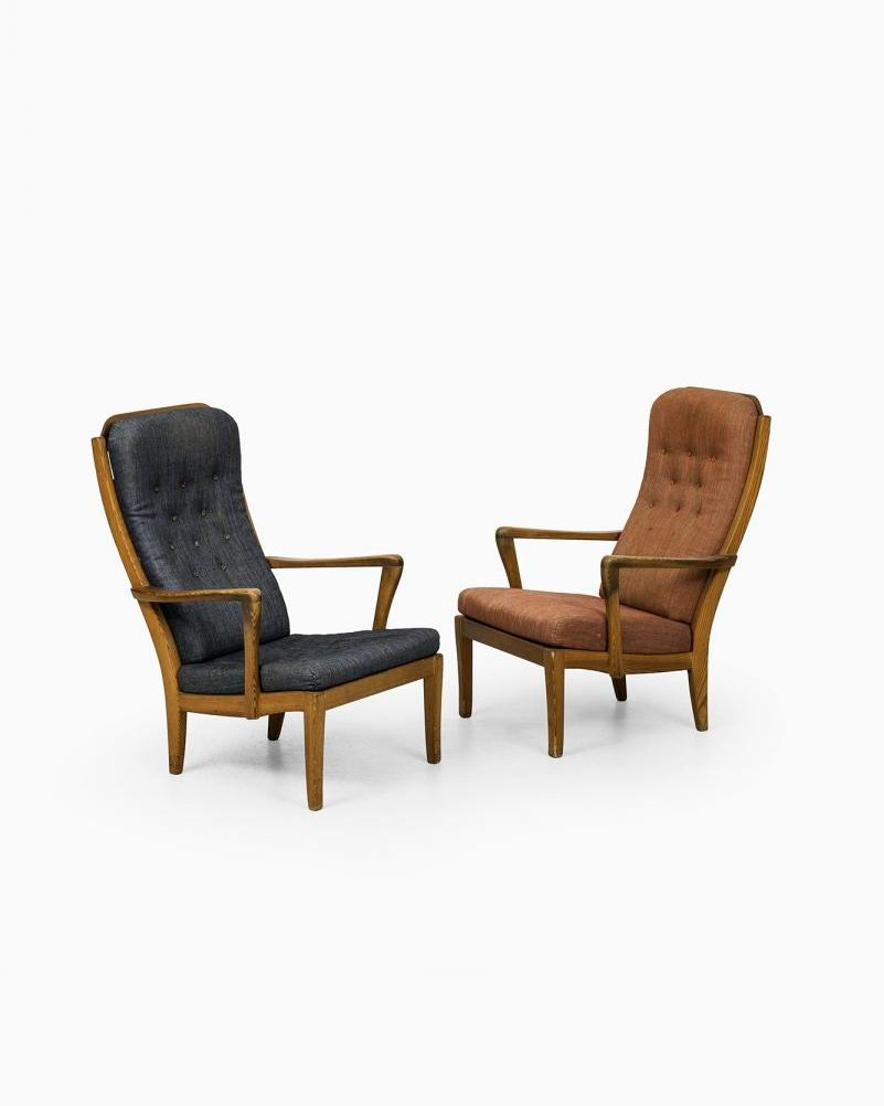 Mabulator Easy Chairs By Carl Malmsten (1943)