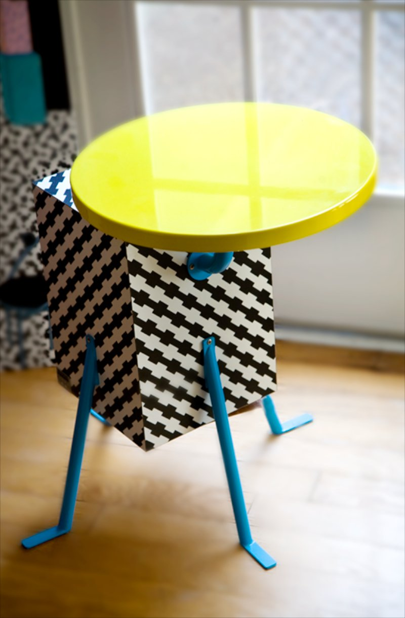 Kristall Table by Michele De Lucchi, 1981