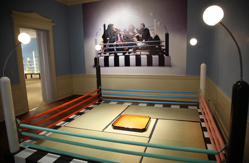 Tawaraya Bed by Masanori Umeda, 1981—installed in the Dixon Gallery & Gardens