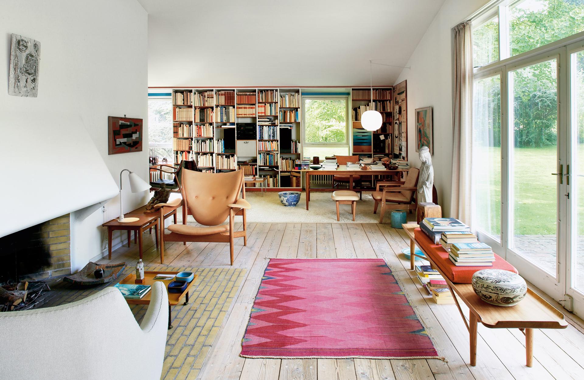 Finn Juhl's house outside of Copenhagen