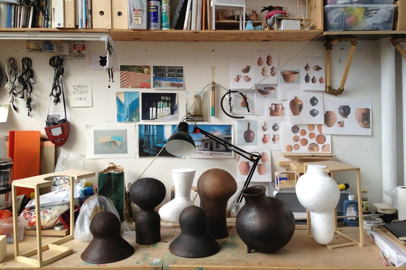 Inside Ovalle's London studio