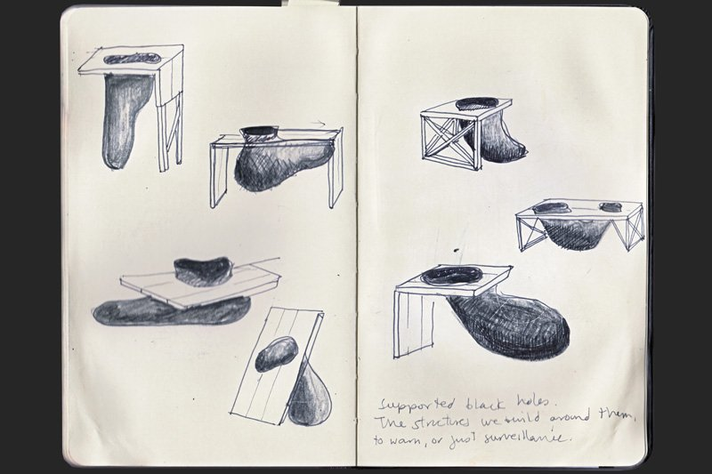 Ovalle's sketches