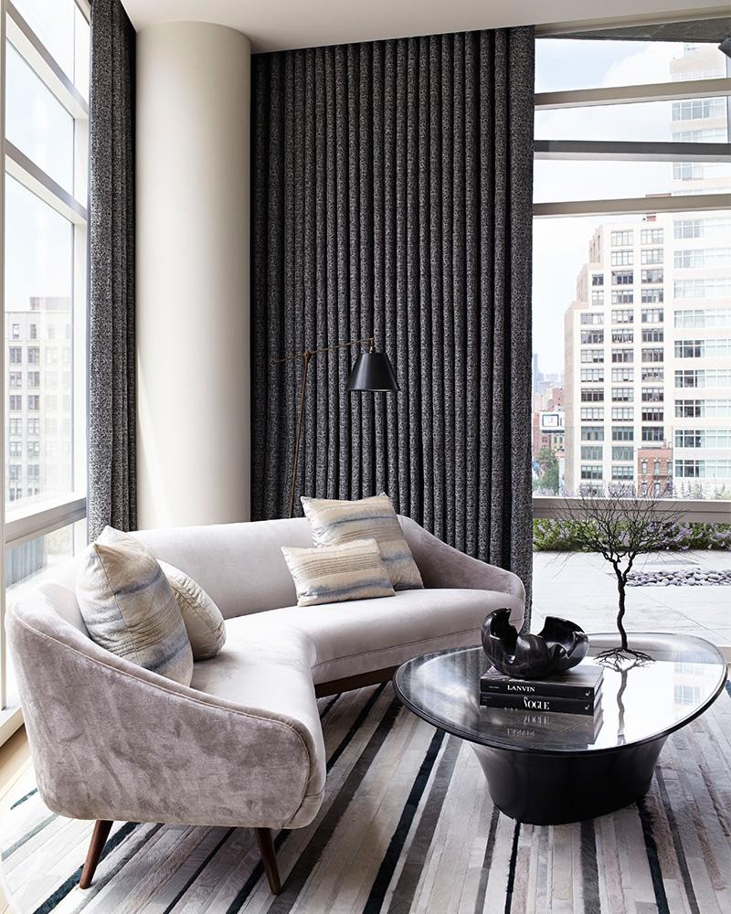Tribeca Triplex designed by Amy Lau. Photo by Bjorn Wallander.