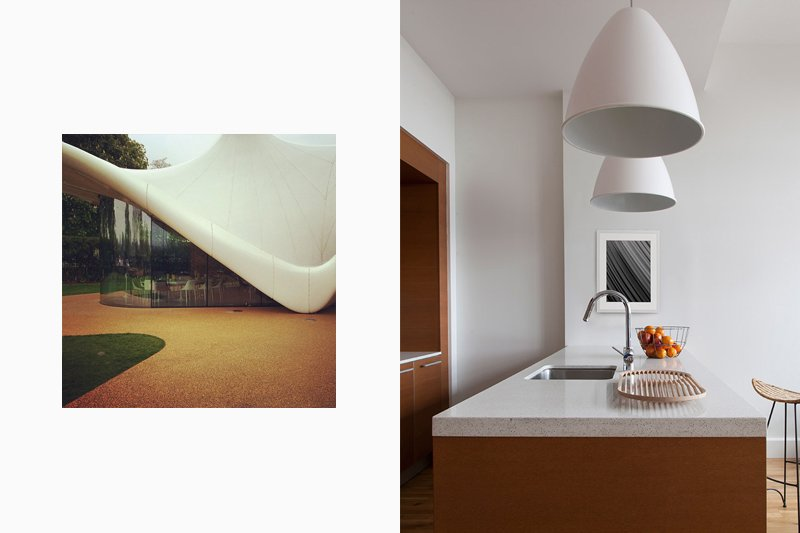 Zaha Hadid Serpentine; Lucy Harris Interior Design
