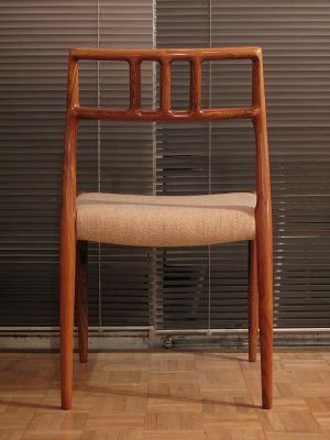 Vintage Model 79 Rosewood Dining Chairs by Niels O Mller for J L