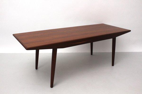 Danish Teak Coffee Table With Drawers By Johannes Andersen 1960s 1