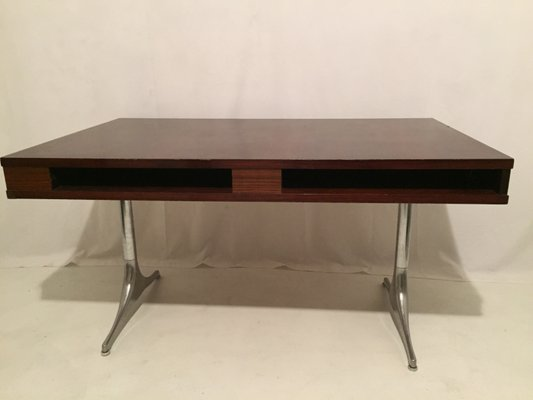 Vintage Rio Rosewood Desk By George Nelson For Herman Miller 1