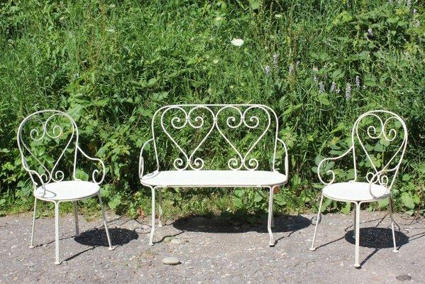 German Children S Garden Furniture Set Of For Sale At Pamono