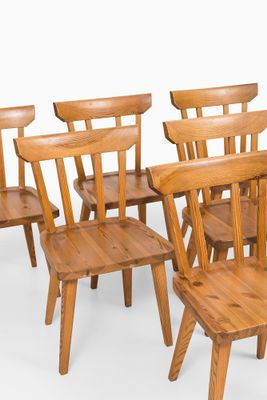 midcentury dining chairs by carl malmsten set of 6 2
