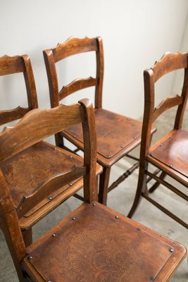 estonian bistro chairs from luterma 1900s set of 4 2 - Bistro Chairs