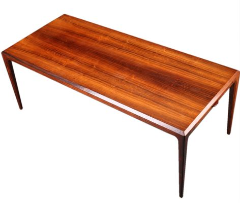 Extendable XL Mid Century Brazilian Rosewood Coffee Table By Johannes  Andersen For CFC Silkeborg 1