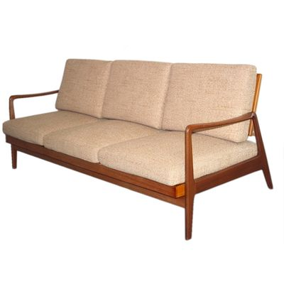 Daybed danish  Danish Mid-Century 3-Seater Sofa & Daybed for sale at Pamono