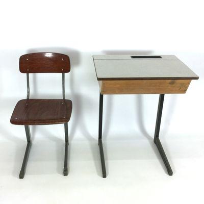 dutch childu0027s desk and chair by friso kramer 1950s 1 - Childs Desk