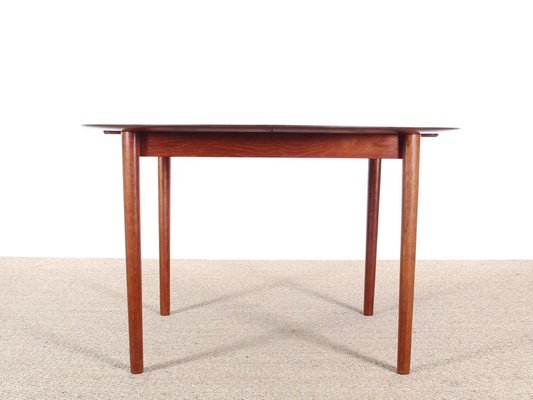 Danish Mid Century Modern Model 311 Solid Teak Dining Table By Peter Hidt U0026  Olrla