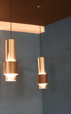 vintage zenith hanging lamps by jo hammerborg for fog u0026 mrup