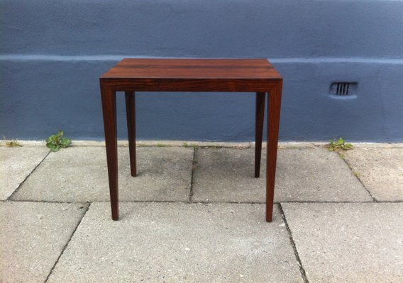 Mid Century Danish Rosewood Coffee Table By Severin Hansen Jr For Haslev 1960s