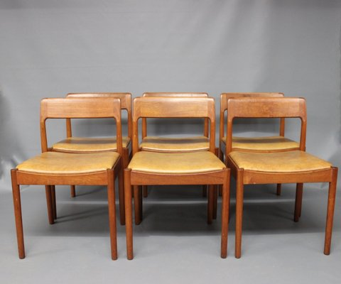 Dining Room Chairs by N O  M ller for J L  M ller  1960s  Set of 6 1. Dining Room Chairs by N O  M ller for J L  M ller  1960s  Set of 6