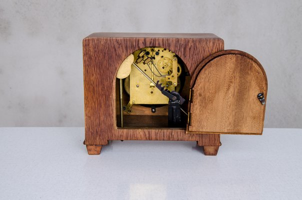 Horloge de Cheminée Art Déco Style École d\'Amsterdam, 1920s en ...