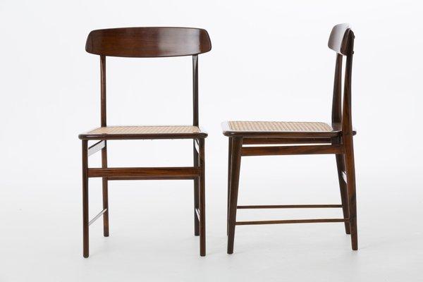 Lucio Costa Chairs In Brazilian Jacaranda By Sergio Rodrigues For Oca, Set  Of 8 2