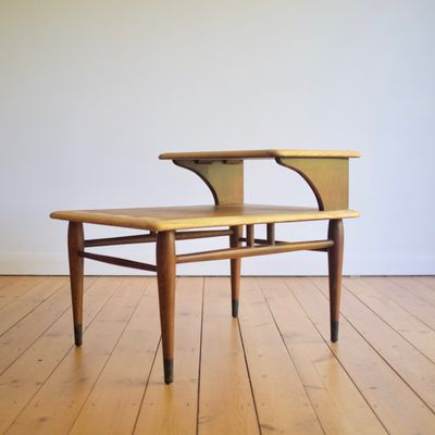midcentury side table by andre bus for lane furniture 1
