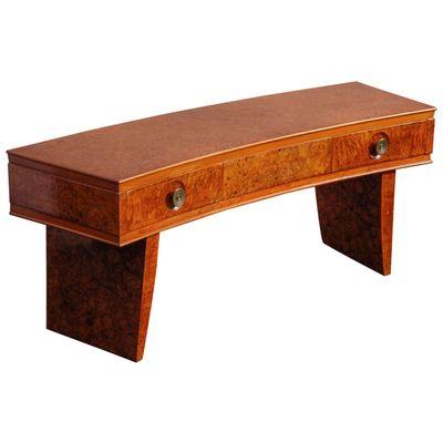 italian art deco console table 1