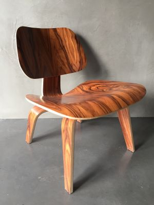 herman miller eames lounge chair and ottoman ebay executive review restoration rosewood ray