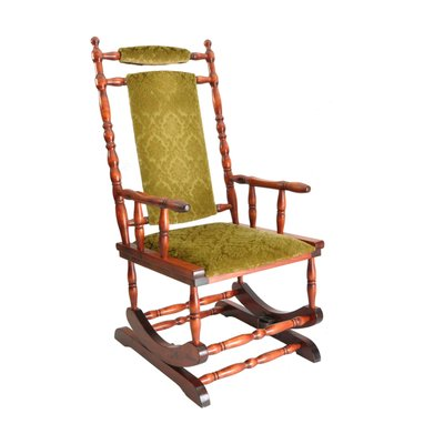 wooden rocking chair 1950s 1