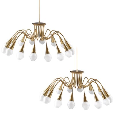 starburst chandelier from snnico 1950s 2 - Starburst Chandelier