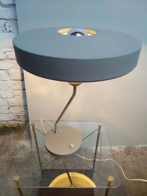 Ufo Table Lamp: Asymmetrical UFO Table Lamp by Louis Kalff for Philips, 1950s 9,Lighting