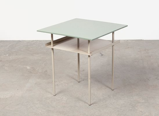 midcentury side table by wim rietveld for auping 3