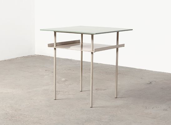midcentury side table by wim rietveld for auping 1