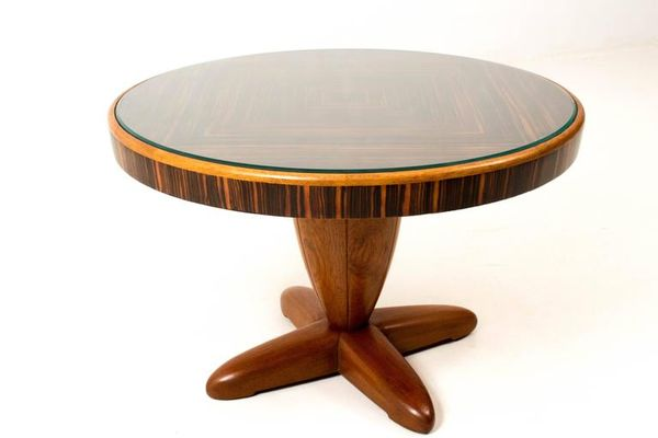Art Deco Coffee Table By Paul Bromberg For Pander, 1931 1