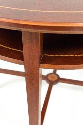 Antique Mahogany Arts U0026 Crafts Game Table, ...
