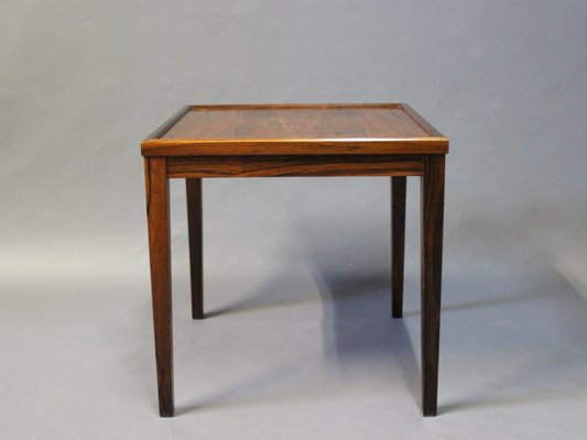 Small Danish Side Table In Rosewood, 1960s 1