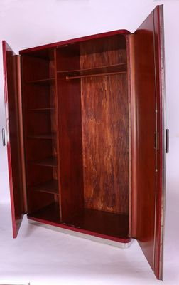 Bauhaus kleiderschrank  Vintage Bauhaus Wardrobe by Rudolf Vichr for sale at Pamono