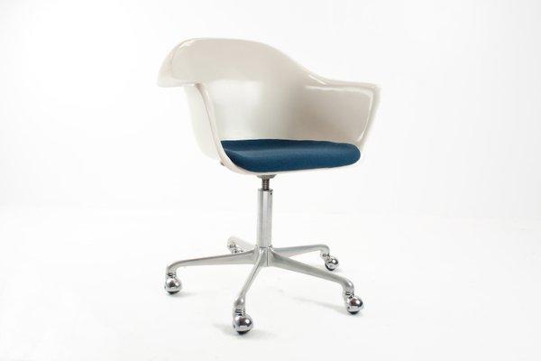 Desk Swivel Chair mid-century german fiberglass desk swivel chairk. schäfer for