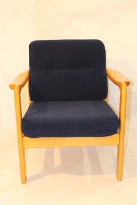 fauteuil scandinave en velours bleu marine 1960s 1 Résultat Supérieur 50 Inspirant Fauteuil Velours Bleu Marine Stock 2017 Xzw1