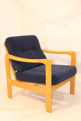 fauteuil scandinave en velours bleu marine 1960s 2 Résultat Supérieur 50 Inspirant Fauteuil Velours Bleu Marine Stock 2017 Xzw1
