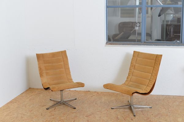 Vintage Club Chairs By Lennart Bender For Ary Møbler, Set Of 2 11